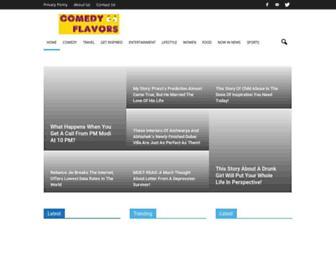 comedyflavors.com screenshot