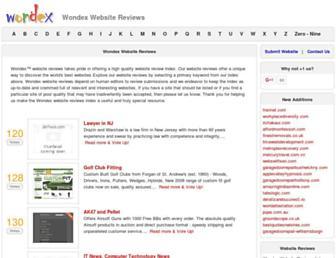 Thumbshot of Wondex.com