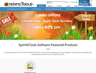 sysinfotools.com screenshot