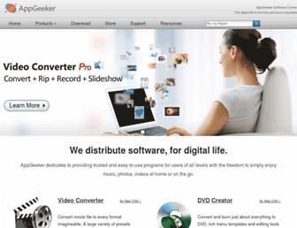 appgeeker.com screenshot