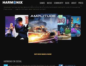 Thumbshot of Harmonixmusic.com