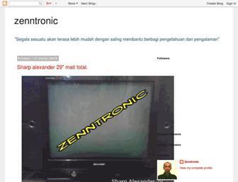 zenntronic.blogspot.com screenshot