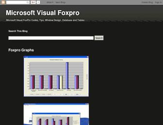 microsoftvisualfoxpro.blogspot.com screenshot