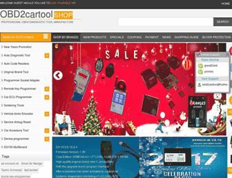 obd2cartool.com screenshot