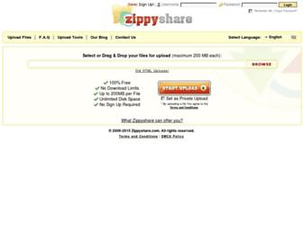 Thumbshot of Zippyshare.com