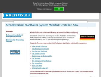 multifix.eu screenshot