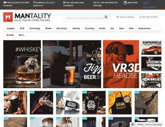 mantality.co.za screenshot