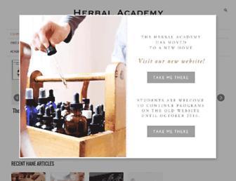 Thumbshot of Herbalacademyofne.com