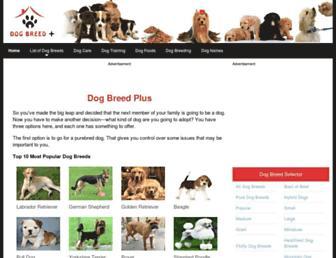 Thumbshot of Dogbreedplus.com