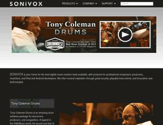 sonivoxmi.com screenshot