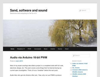 sandsoftwaresound.net screenshot