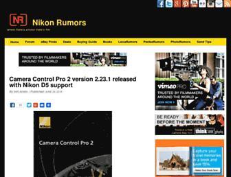 Thumbshot of Nikonrumors.com