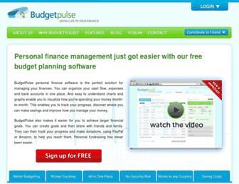 budgetpulse.com screenshot