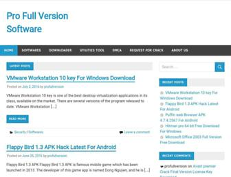 profullversion.com screenshot
