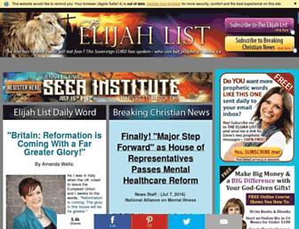 Thumbshot of Elijahlist.com