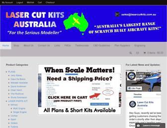 lasercutkits.com.au screenshot