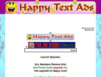 Thumbshot of Happytextads.com