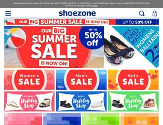Thumbshot of Shoezone.com