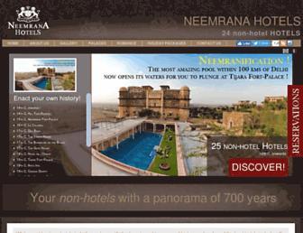 Thumbshot of Neemranahotels.com