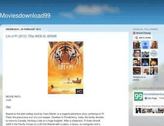 moviesdownload99.blogspot.com screenshot