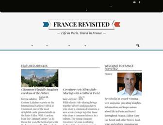 francerevisited.com screenshot