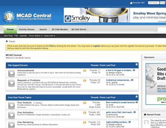 mcadcentral.com screenshot