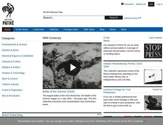 britishpathe.com screenshot