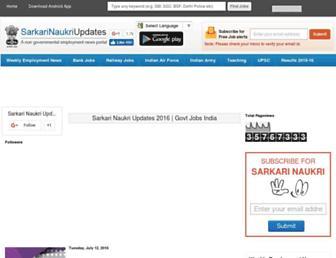Thumbshot of Sarkarinaukriupdates.com