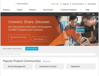 communities.bmc.com screenshot