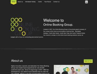 Thumbshot of Onlinebookinggroup.com.au