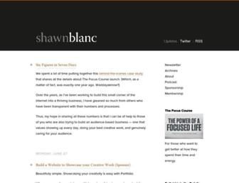 Thumbshot of Shawnblanc.net