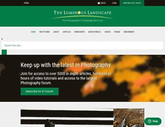 Thumbshot of Luminous-landscape.com