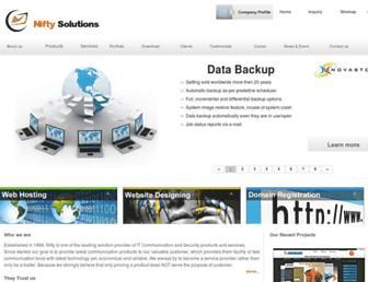 niftysolutions.co.in screenshot
