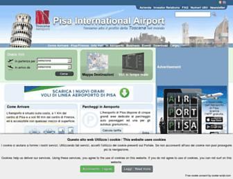 Thumbshot of Pisa-airport.com
