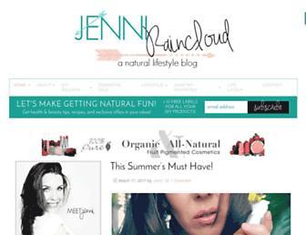 jenniraincloud.com screenshot