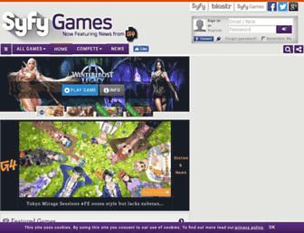 Thumbshot of Syfygames.com