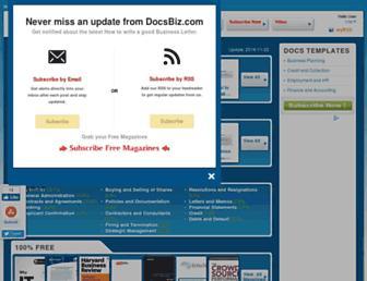 docsbiz.com screenshot