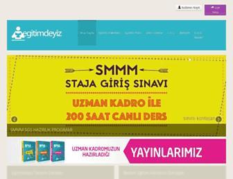 egitimdeyiz.com screenshot