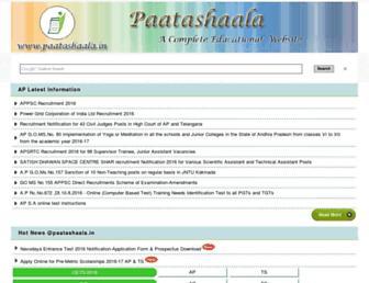 paatashaala.in screenshot