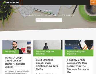 blog.thomasnet.com screenshot
