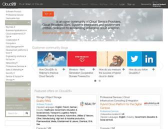 cloud28plus.eu screenshot