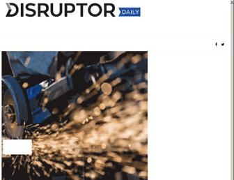 disruptordaily.com screenshot