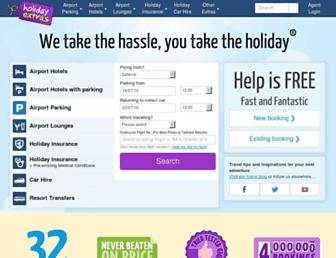 Thumbshot of Holidayextras.co.uk