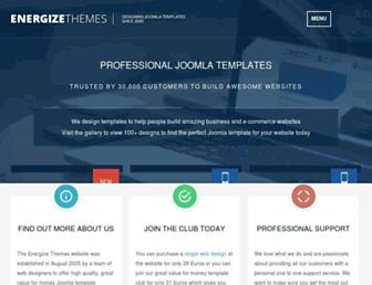 energizethemes.com screenshot