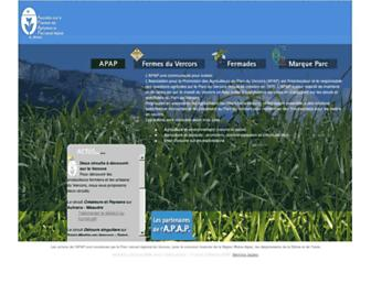 apapvercors.com screenshot