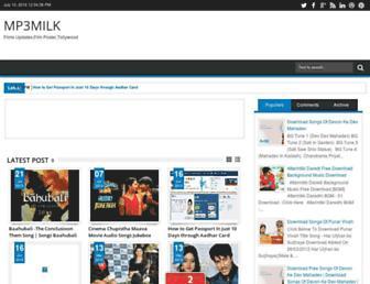 mp3milks.blogspot.com screenshot