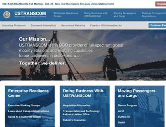 ustranscom.mil screenshot