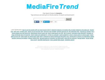 mediafiretrend.com screenshot