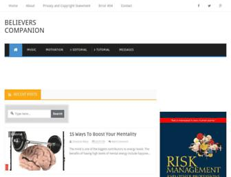 believerscompanion.com screenshot