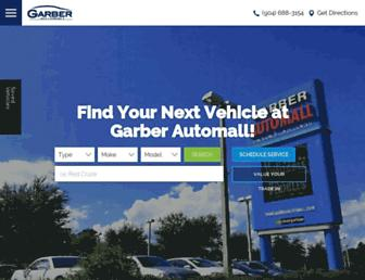 garberautomall.com screenshot